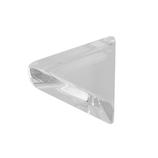 サワダプラテック(SAWADA PLATEC) アクリルブロック 三角 30×10mm クリア│樹脂・プラスチック アクリルブロック・球