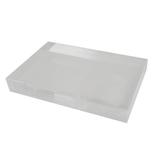 サワダプラテック(SAWADA PLATEC) アクリルブロック 150×100×20mm クリア│樹脂・プラスチック アクリルブロック・球