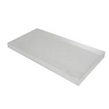 サワダプラテック(SAWADA PLATEC) アクリルブロック 平板 300×150×20mm クリア│樹脂・プラスチック アクリルブロック・球