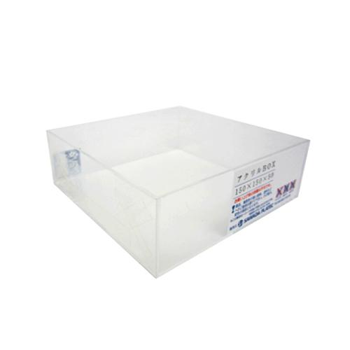 アクリルBOX 2mm 150×150×50