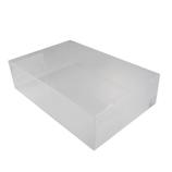 サワダプラテック(SAWADA PLATEC) アクリルボックス 300×200×80mm クリア│樹脂・プラスチック アクリルケース・ボックス