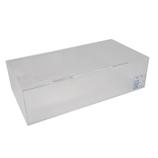 サワダプラテック(SAWADA PLATEC) アクリルボックス フタ付き 206×106×55mm クリア│樹脂・プラスチック アクリルケース・ボックス
