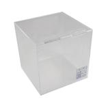 サワダプラテック(SAWADA PLATEC) アクリルボックス フタ付き 106×106×105mm クリア│樹脂・プラスチック アクリルケース・ボックス
