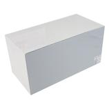 サワダプラテック(SAWADA PLATEC) アクリルボックス 背面ミラー 200×100×100mm│樹脂・プラスチック アクリルケース・ボックス
