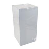 サワダプラテック(SAWADA PLATEC) アクリルボックス 背面ミラー 100×100×200mm│樹脂・プラスチック アクリルケース・ボックス