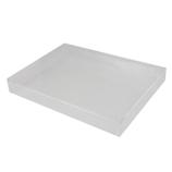 サワダプラテック(SAWADA PLATEC) アクリルボックス トレイ 225×165×30mm A5│樹脂・プラスチック アクリルケース・ボックス