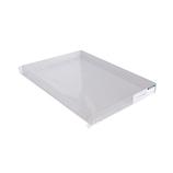 サワダプラテック アクリルBOXトレイ A4 225×315×30mm│樹脂・プラスチック アクリルケース・ボックス