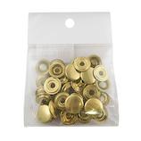 中西 ジャンパーホック #7050 真鍮 10個入│レザークラフト用品 皮革用金具