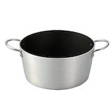 北陸アルミニウム デミプロファミリー スープポット 19.5cm│鍋 両手鍋