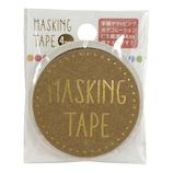 ワールドクラフト マスキングテープ 4mm カラフルドット W01MT4−0013│シール マスキングテープ
