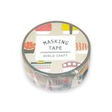 ワールドクラフト マスキングテープ MT15−021 お寿司