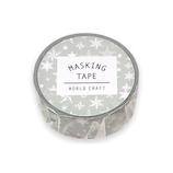ワールドクラフト マスキングテープ MT15−025 stars グレー