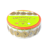 ワールドクラフト マスキングテープ ミンイー 民族衣装柄 15mm MZMT15−010 Coin│シール マスキングテープ