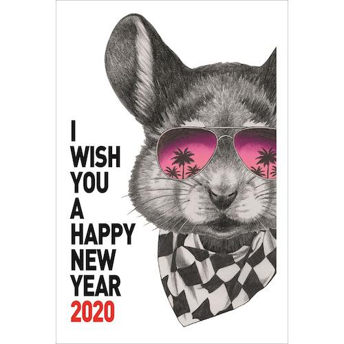 東急ハンズオリジナル 2020年 子年 年賀状 PBH‐111 3枚入