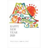 東急ハンズセレクション 2020年 子年 年賀状 PHT‐032 3枚入