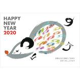 東急ハンズセレクション 2020年 子年 年賀状 PHT‐073 3枚入