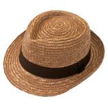 田中帽子 田中さんの麦わら帽子 UK−H005 Lサイズ ブラウン