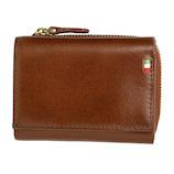 ミラグロ イタリアンレザー・三つ折り財布 CA-S-568 ブラウン