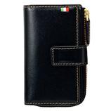 ミラグロ イタリアンレザー・キー&コインケース CA-S-594 ネイビー│財布・名刺入れ キーケース