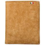 ミラグロ イタリアンヌバック・コンパクト財布 CA-P-591 キャメル