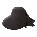 遮熱エレガントつば広帽子│アウトドアウェア