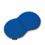 サンファミリー 持ち運べる低反発ゲルクッション ブルー×ベージュ