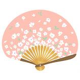 はな日和 扇子 ブーケ H6050 ピンク│夏物雑貨 扇子・うちわ(団扇)