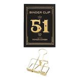 ハイタイド(HIGHTIDE) ツールズトゥリブバイ クリップ51 tl020 ゴールド│クリップ・ステープラー ターンクリップ