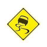 大蔵製作所 マグネットステッカー 警戒標識 スリップ注意 KK012mg