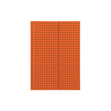 Paper-Oh ノートブック Circulo Orange on Grey A6