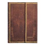 【2022年1月始まり】 Paperblanks(ペーパーブランクス) ダイアリー ミディ B6 ウィークリー DJ8088-6 シエラ 月曜始まり