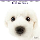 【2019年版・壁掛】 THE DOG ビションフリーゼ 403204