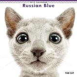 【2019年版・壁掛】 THE CAT ロシアンブルー 403243