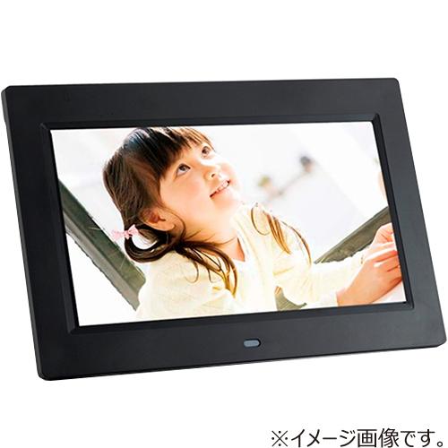 7インチ 高画質デジタルフォトフレーム 黒 HMP717BK