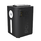 ヒース(HI-SS) ポータブルパワーステーション HPS-01BK ブラック│アウトドアグッズ・小物 ランタン・LEDライト
