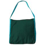 チケットトゥザムーン(TICKET TO THE MOON) エコマーケットバッグ ダークグリーン/ターコイズ│エコバッグ・ショッピングカート