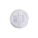 イッコニコ 貼暦(ハルコヨミ) タテ組 5mm方眼対応mini(詰め詰め) HK-15 英語版