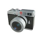 【バレンタイン】エウレカ カメラ缶 望遠レンズ ブラック