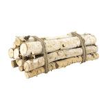 【クリスマス】ホワイエ 白樺ブランチバンドル 20cm 12本セット
