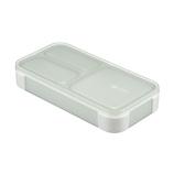 シービージャパン 薄型弁当箱抗菌フードマン400│お弁当箱 弁当箱