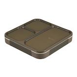 シービージャパン 薄型弁当箱抗菌フードマン800│お弁当箱 弁当箱