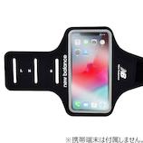 NewBalance スマホ対応アームバンド ブラック BK│携帯・スマホアクセサリー