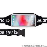 NewBalance ランニングポーチ ブラック BK│携帯・スマホアクセサリー