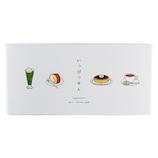 ラウンドトップ ニホンゴフラッシュカード 一筆箋 NFYP003 喫茶