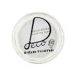 ラウンドトップ ヒラノトシユキ マスキングテープ HTMK017 Cup Shortcake│シール マスキングテープ