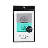 BIRDY.Supply グラスタオル Lサイズ クールグレー