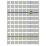 オリエンタルベリー てのひら御朱印帳 GN−6395 組紐と格子・藍