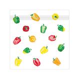オリエンタルベリー vegenery ジッパーバッグ パプリカ 5枚入│ラッピング用品 ラッピング袋