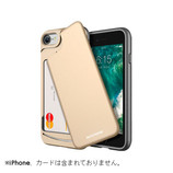 【iPhone7】 MATCHNINE CARDLA SWINGケース ゴールド