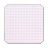 いろは出版 チェック 色紙(CHECK SHIKISHI) GCS−01 ピンク/グレー チェック